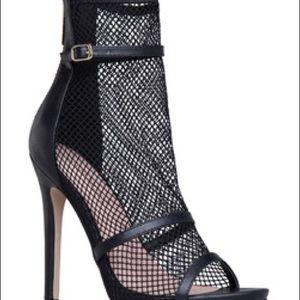 Mesh Shoedazzle Heels
